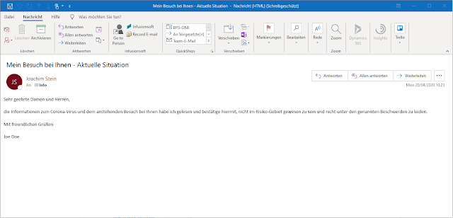Outlook-Mailbestätigung-Welcome